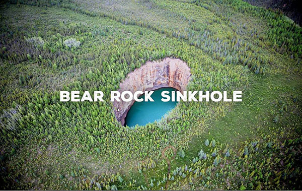 bear rock sinkhole