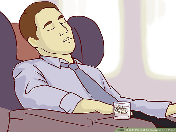 prevent Air Sickness on a Plane Step 1 4