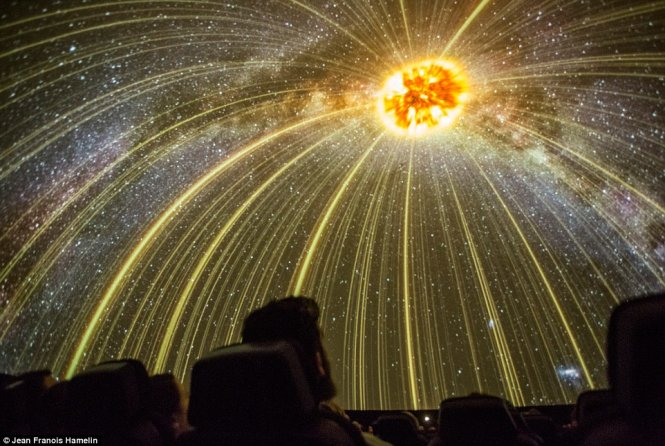 planetarium pictured features giant 360 degree screen