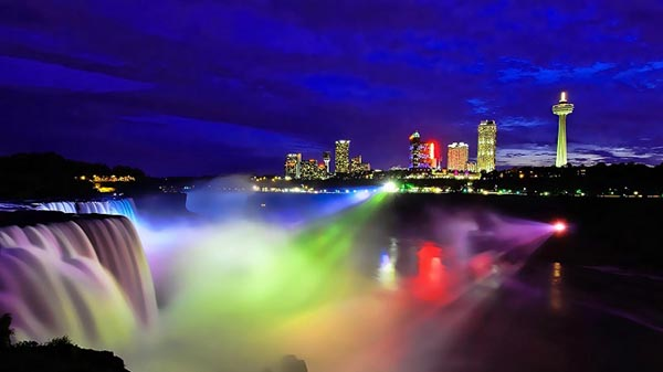 niagara colorful