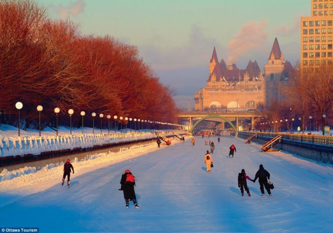 ottawa ice river