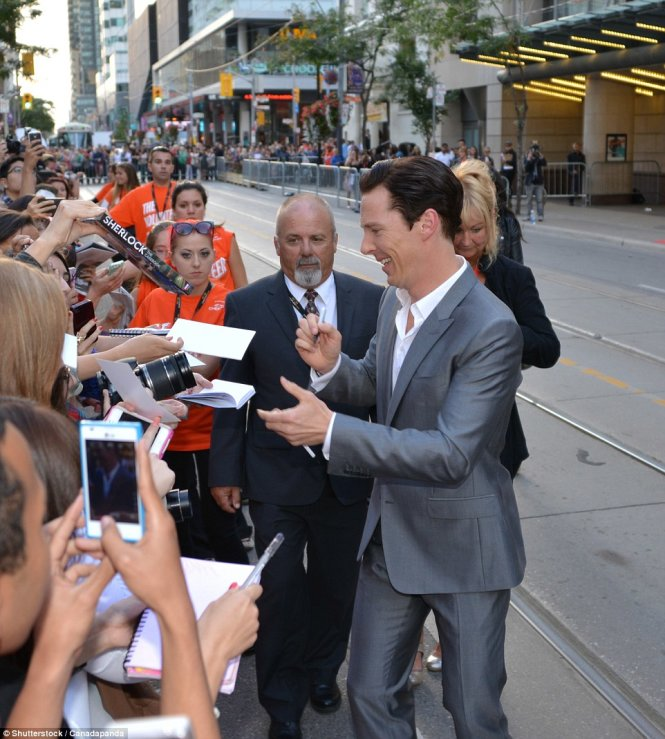 benedict cumberbatch comes to town for the toronto international film festi